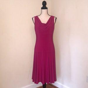 Beautiful Pink Jersey Dress. Chaps. Women Size MED